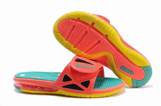 Nike Lebron James 2 Slide Elite Air Cushion Slippers Watermelon Red